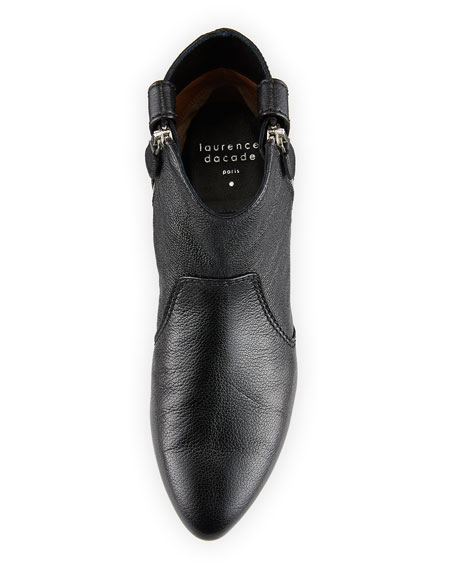 Soa Grained Kit Leather Booties