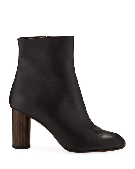 Spath Leather 80mm Booties
