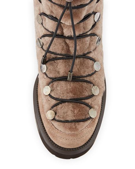 Lorena Shearling Boots