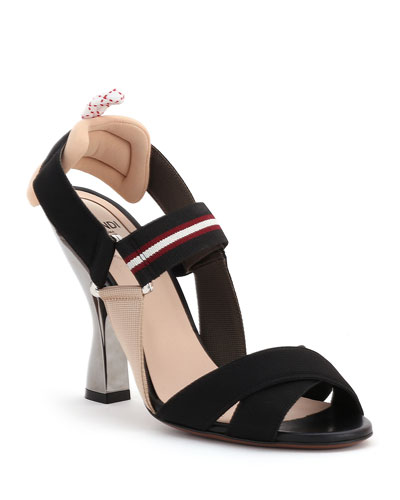 Colibri Strappy Canvas Sandals