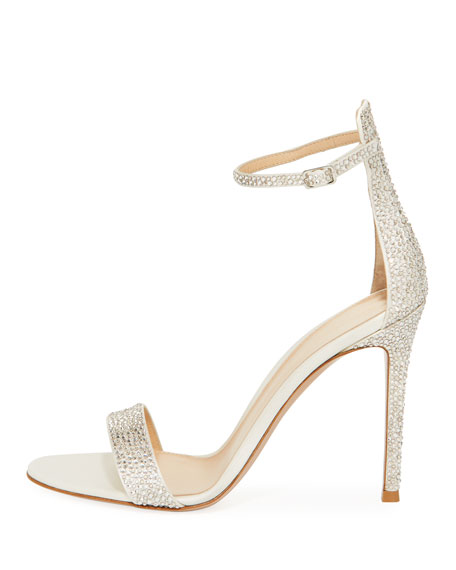 Crystal Strappy 105mm Sandals