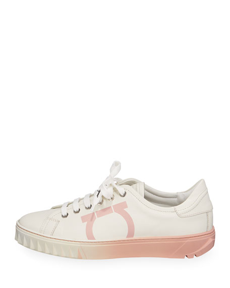 Cube 8 Sharktooth-Sole Low-Top Sneakers