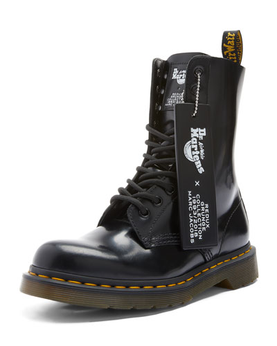 x Dr. Martens Leather Boots