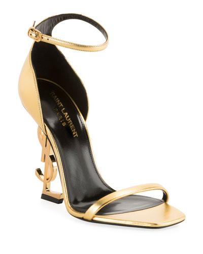 1a1413fc731 Saint Laurent Collection   Chelsea Boots   Bow Sandals at Neiman Marcus