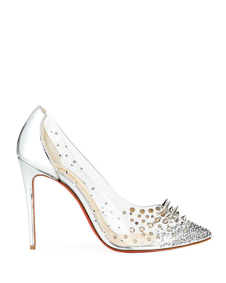 Grotika Spiked Red Sole Pumps