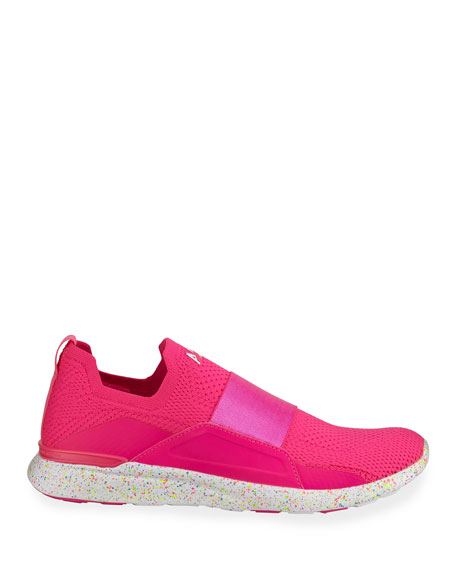 Techloom Bliss Knit Slip-On Running Sneakers