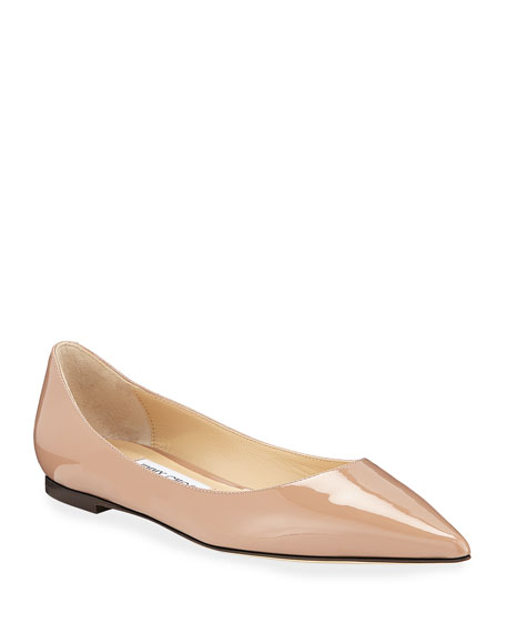 Love Patent Ballet Flats