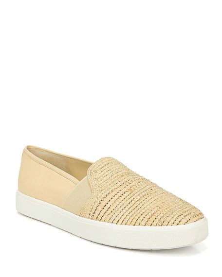 Image 1 of 1: Blair Woven Flat Sneakers