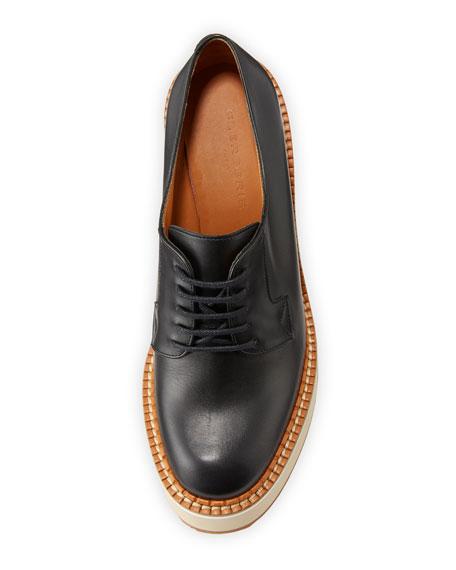Bravo Leather Derby Wedges
