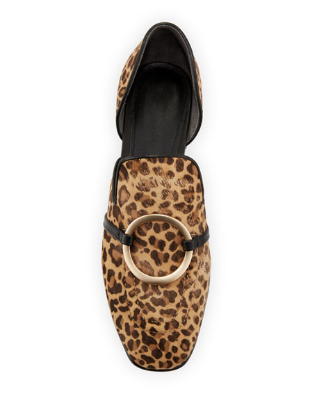 Ianthey Leopard Flat Loafers