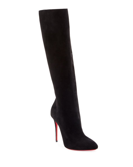 Image 1 of 1: Eloise Over-The-Knee Red Sole Boots