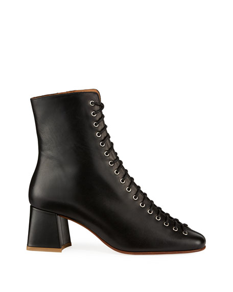 Becca Smooth Laced Booties