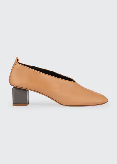 Mildred Classica Leather Pumps