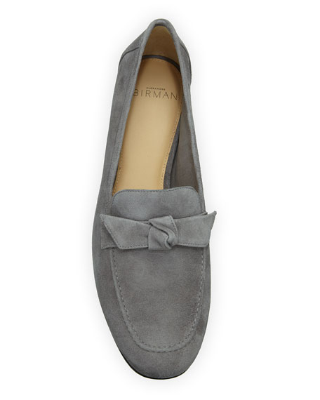 Becky Suede Knotted Loafers
