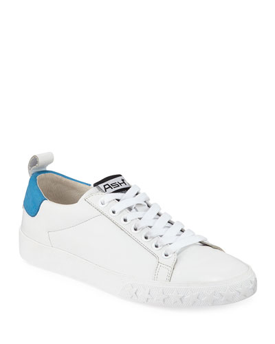 Dazed Leather Lace-Up Sneakers