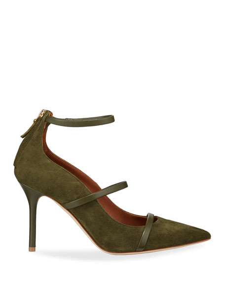 Robyn Suede Pointed Pumps