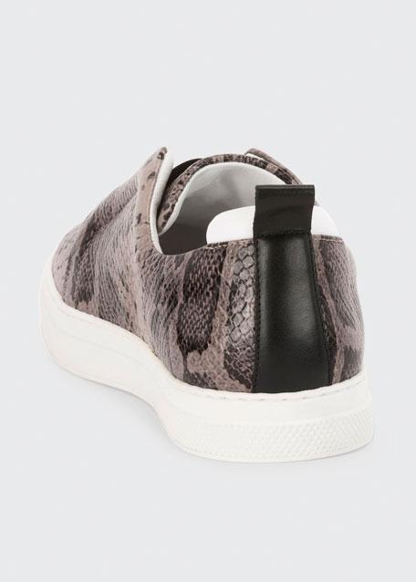Slider Suede Slip-On Low-Top Sneakers