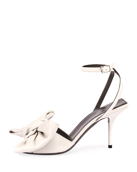 Square Knife Bow Sandals