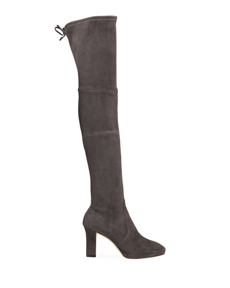 Ledyland Suede Over-The-Knee Boots