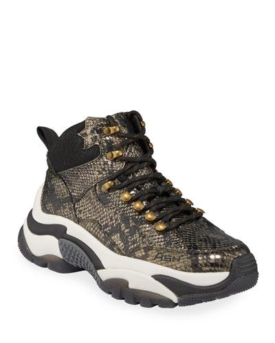Alfa Python-Print Sneakers
