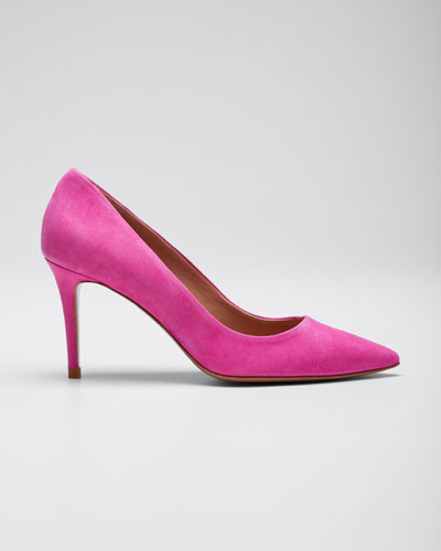 Aurora Suede 85mm Pumps