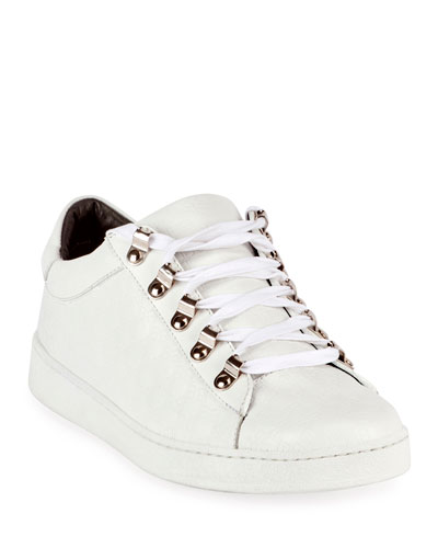 Noon Leather Low-Top Sneakers