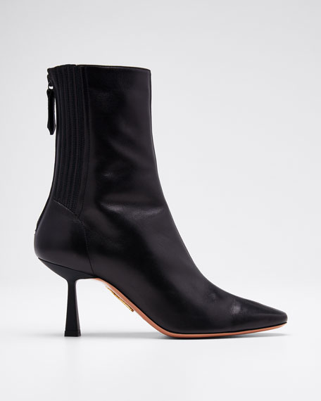 Image 1 of 1: Curzon Shiny Zip Booties