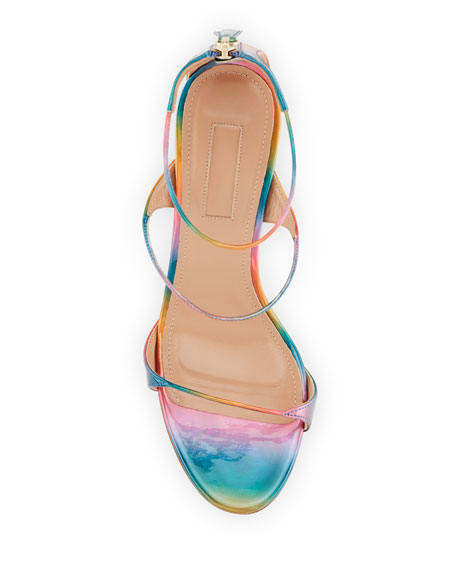 Minute Holographic High Sandals