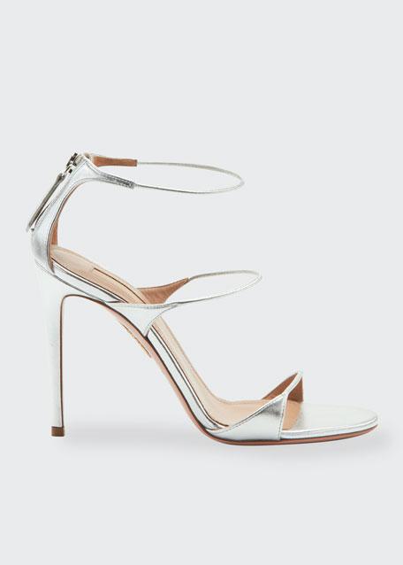 Minute Metallic High Sandals