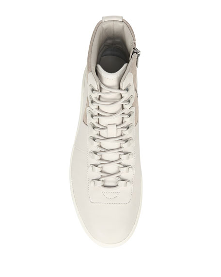 Rowan Mixed Lace-Up Sneakers