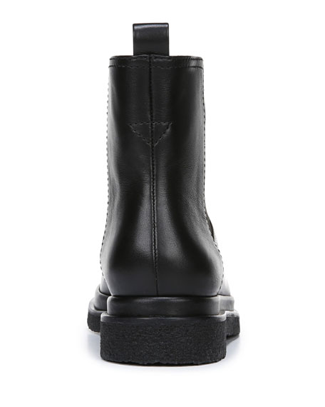 Litton Water-Repellant Stretch Leather Booties
