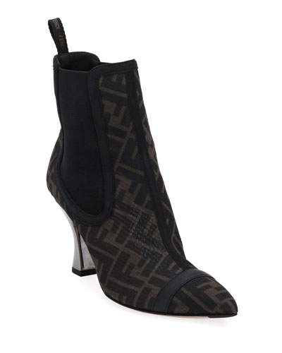 FF Mesh Gored Booties