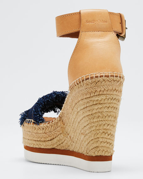 Glyn Denim Espadrille Sandals