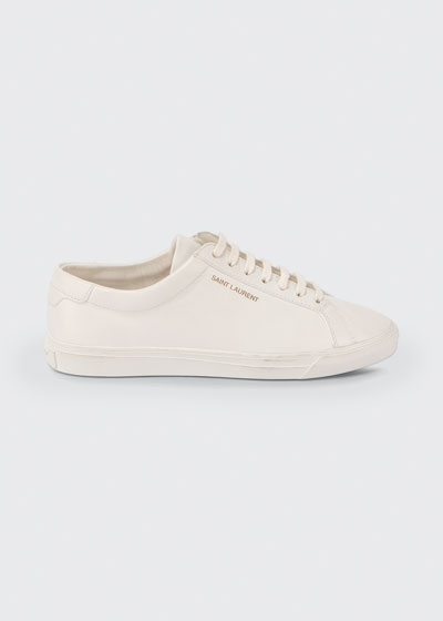 Andy Leather Lace-Up Sneakers
