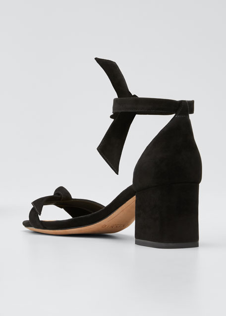 Clarita Suede 60mm City Sandals