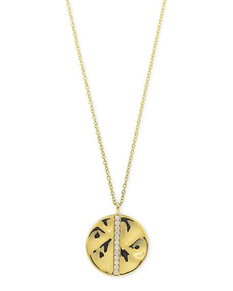 18K Gold & Diamond Pendant Necklace