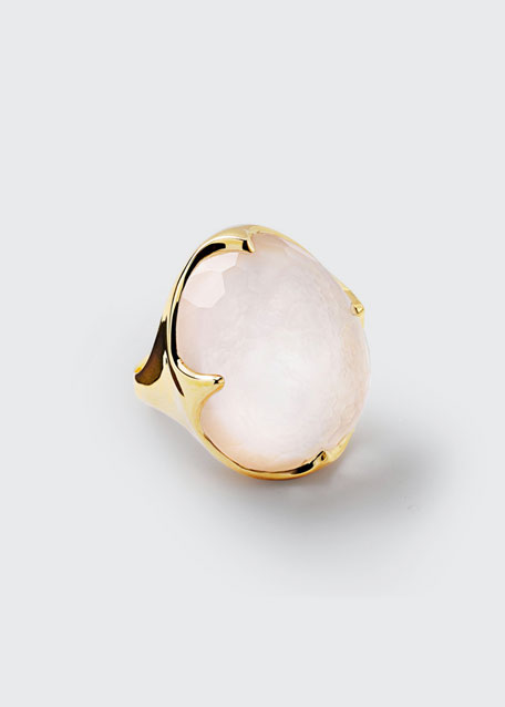 18K Rock Candy® King Ring in Mother-of-Pearl Doublet