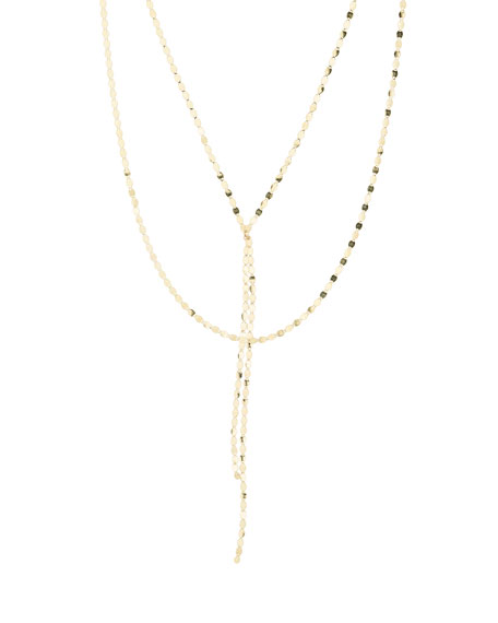 LANA Bond Petite Nude Blake Necklace