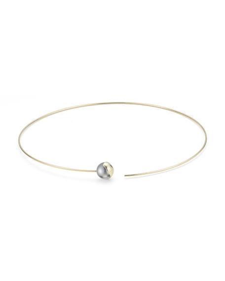 Fluid Tahitian Pearl Collar Necklace