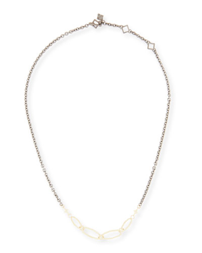 Old World Short Chain Necklace  18L
