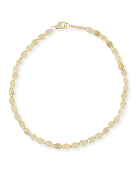14k Gold Large Nude Chain Anklet