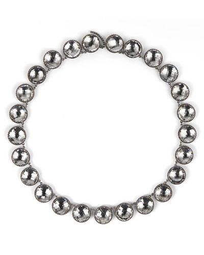Olivia Button Riviere Necklace  Dove