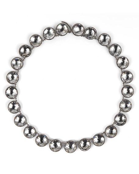 Olivia Button Riviere Necklace, Dove