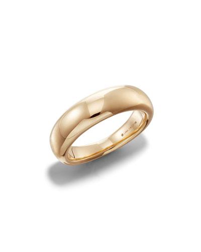 Hollow 14k Gold Ring