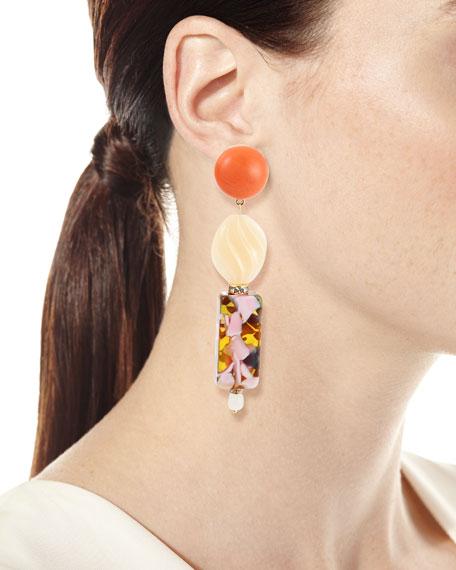 Stacked Dangle Earrings