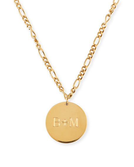 Katrina Personalized Medallion Necklace