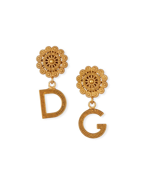 Filigree DG-Drop Earrings