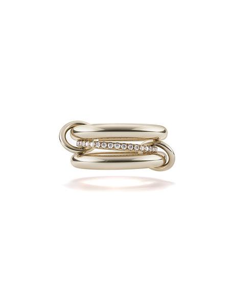 Libra 18k Diamond & Connector Ring