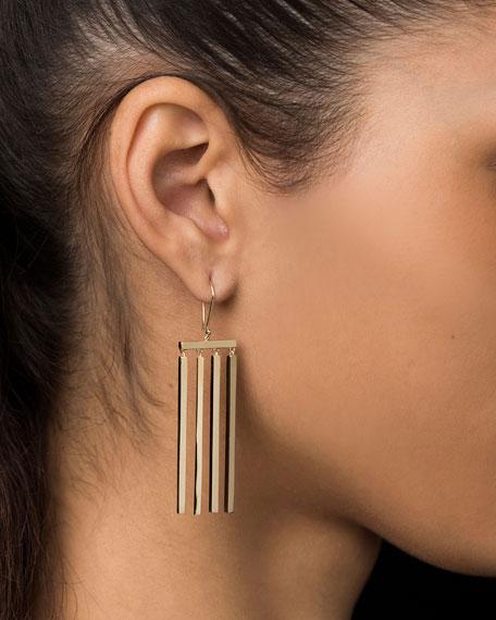 14k Multi-Stick Dangle Earrings