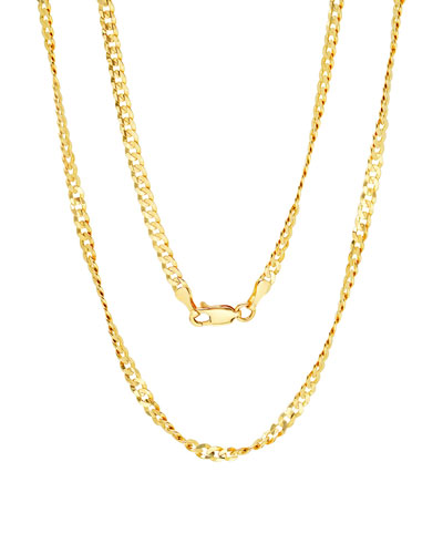 14k Yellow Gold Italian Chain Necklace